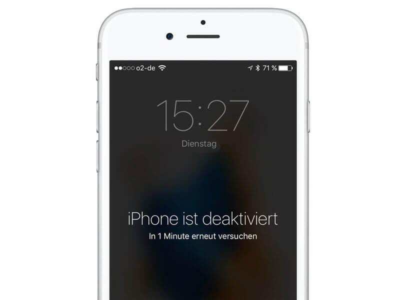 Iphone 4 Deaktiviert Mit Itunes Verbinden