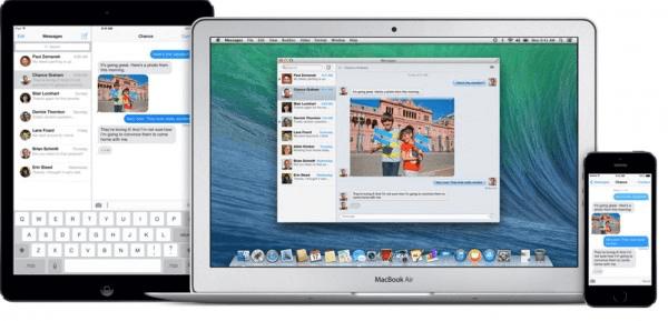 iMessage Online auf Mac und iPhone