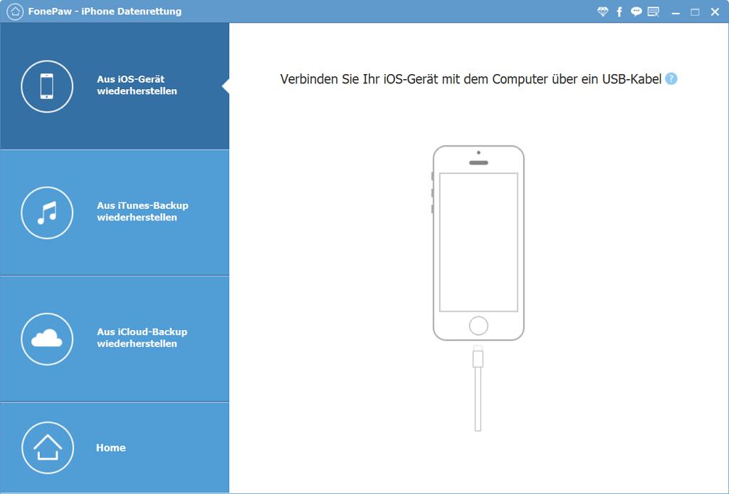 iPhone mit dem Computer verbinden