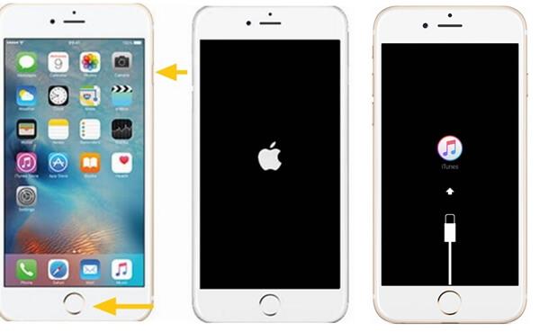 iPhone 6s/6/5s/5/4 in Wiederherstellungsmodus versetzen