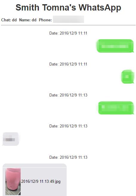 Drücken Sie die Nachrichten des WhatsApps aus
