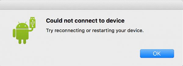 Android MTP funktioniert nicht