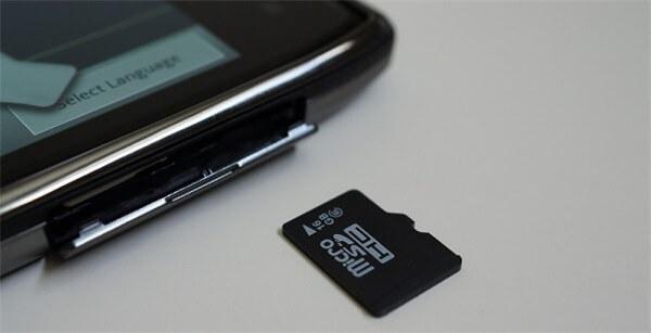 Android SD Karte wird nicht erkannt