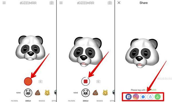 Animoji auf allen iPhones und Android teilen