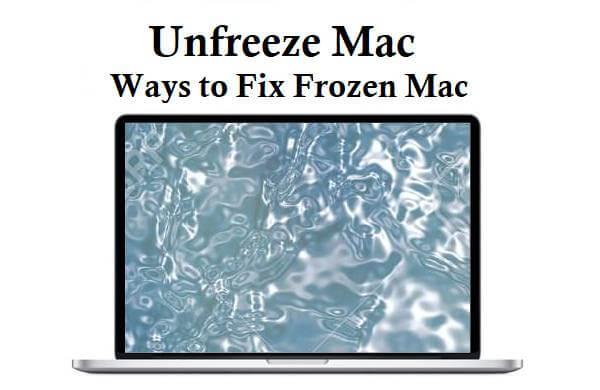 eingefrorenen Mac