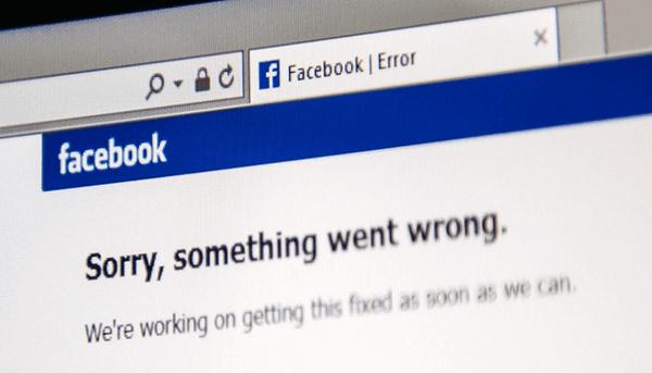 Facebook ist falsch