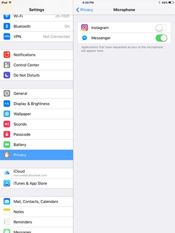 Facebook Messenger-Videoanruf funktioniert nicht