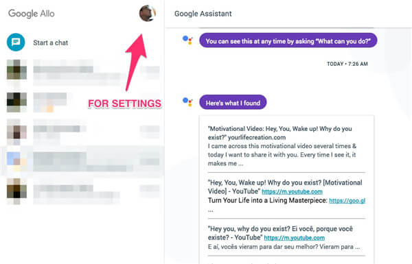 Google Assistant einstellen