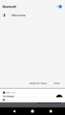 Google Home Kopplung