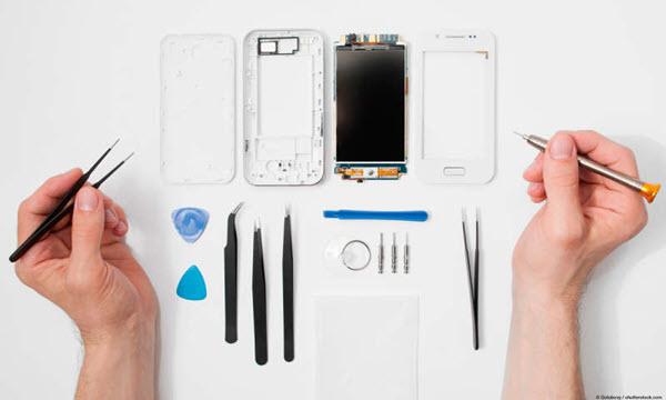 Ins Wasser gefallenes Handy reparieren