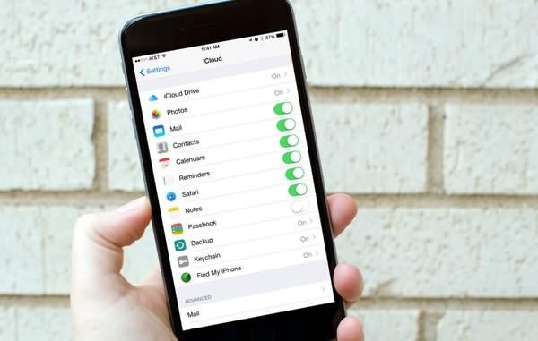 iCloud auf iPhone