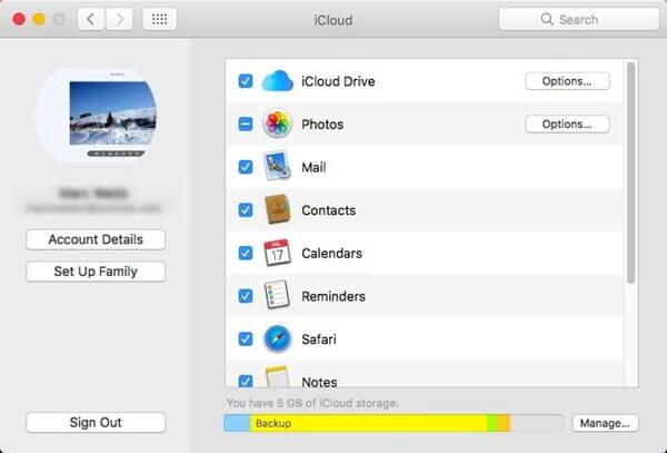 iCloud auf Mac einstellen