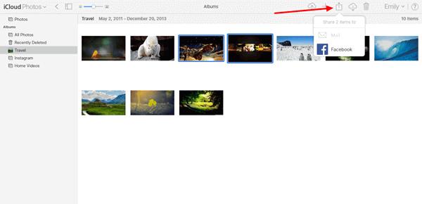 iCloud-Foto teilen