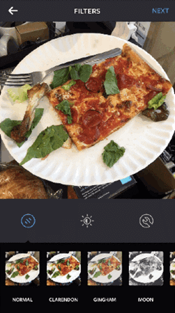 Instagram-Filter bearbeiten