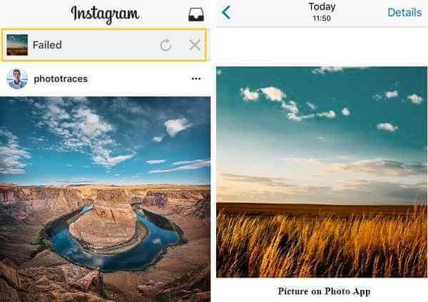 Instagram-Fotos bearbeiten