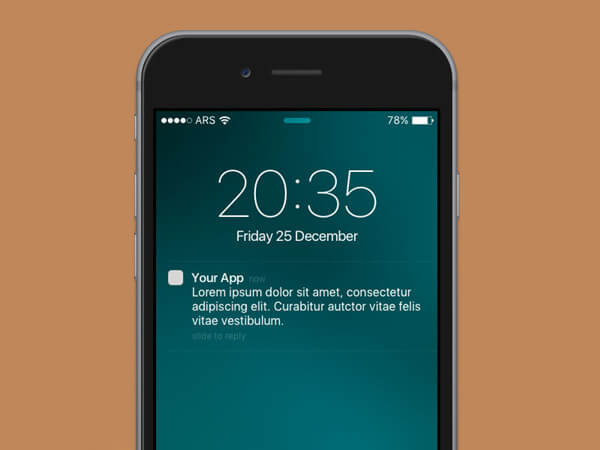iOS Notifikation