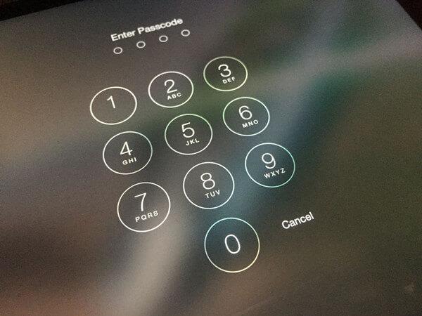 iOS Passwort
