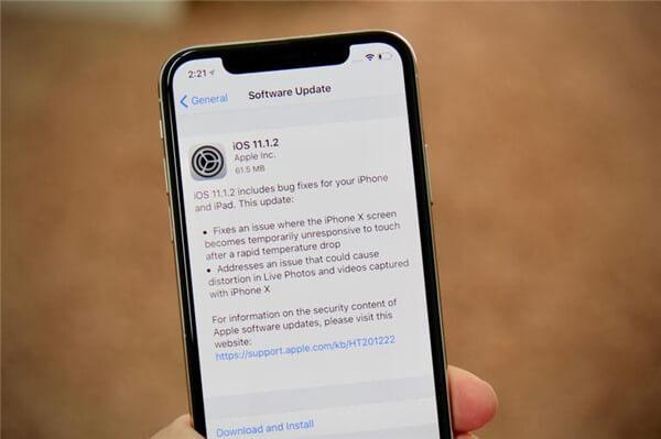 iOS updaten