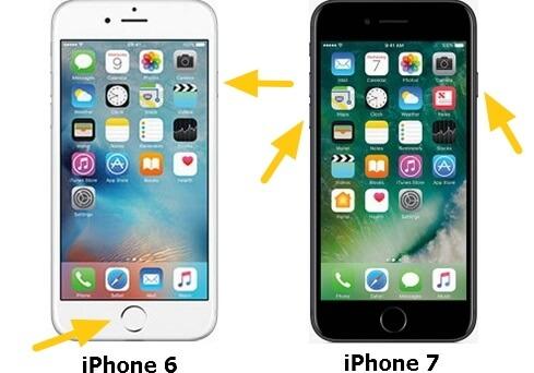 iPhone 6/7 neustarten