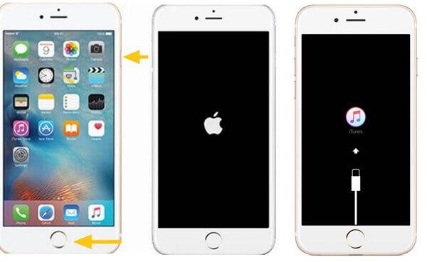 iPhone 6s-Rettungsmodus eintreten