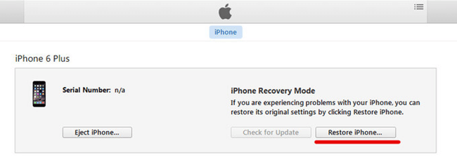 iPhone in Recovery-Modus wiederherstellen
