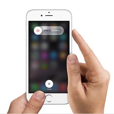 iPhone 7 neustarten