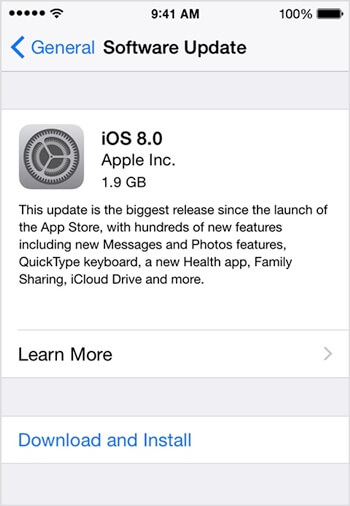 iPhone Update