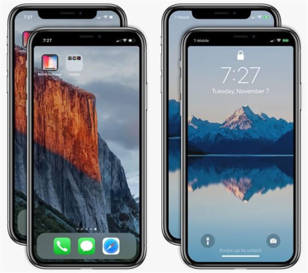 iPhone X Notch entfernen
