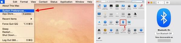 Mac-Bluetooth einschalten