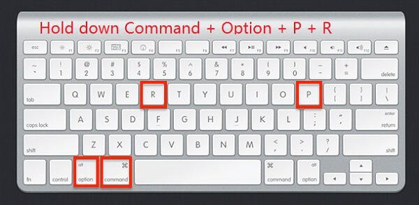 Mac-NVRAM zurücksetzen