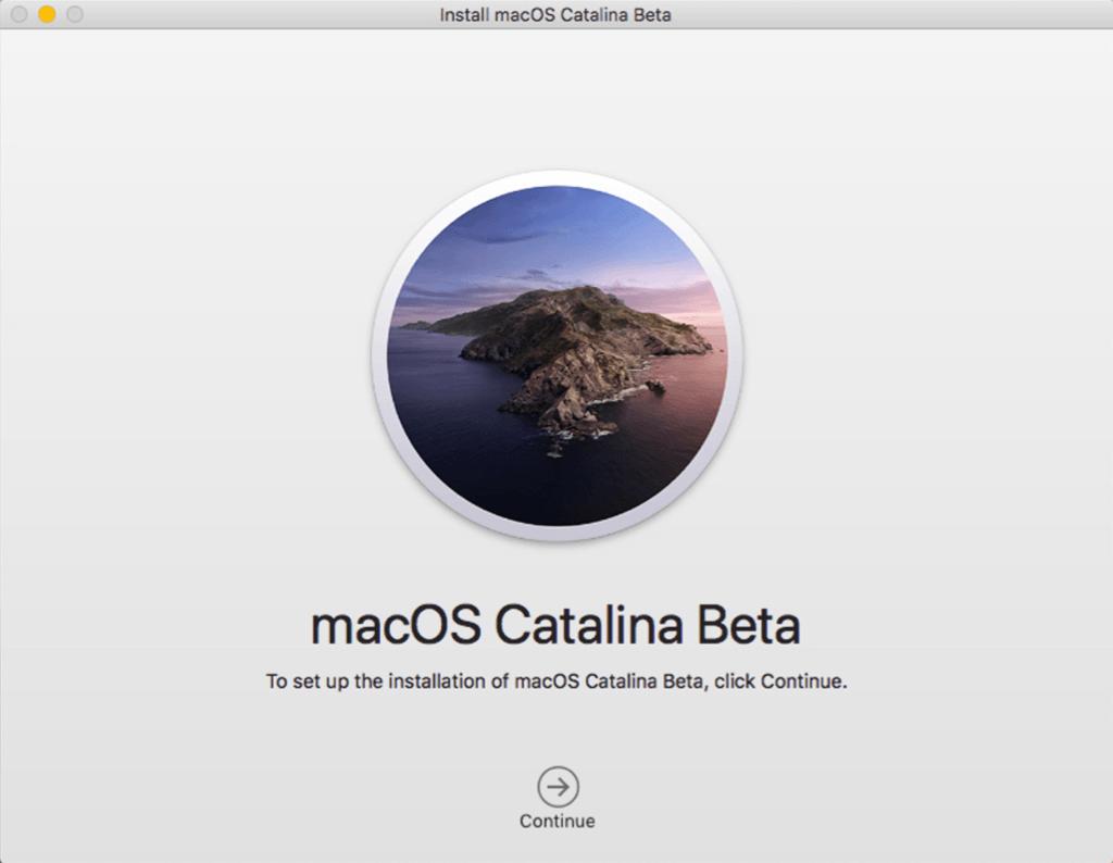 macOS Catalina Beta installieren
