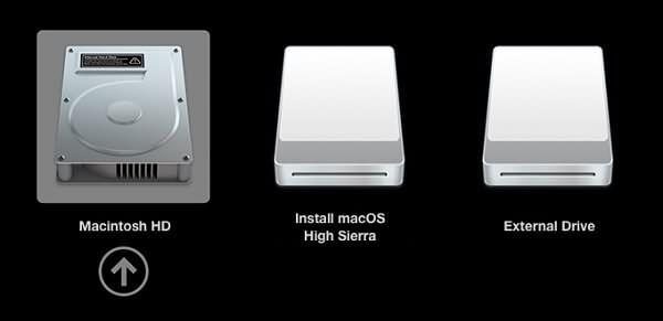 Mac vom USB-Flash-Laufwerk booten