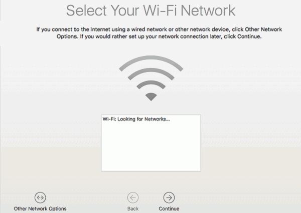 macOS mit WLAN verbinden
