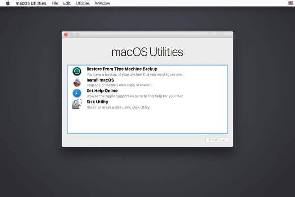 macOS-Utilities-Fenster