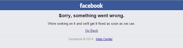 Messenger auf Facebook nicht funktionieren