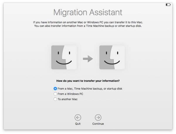 migrationsassistenten iTunes-Bibiliothek