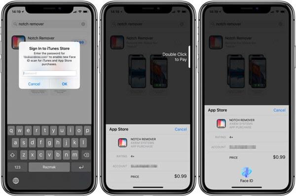 Mit Apple Face ID bezahlen