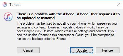 Mit iTunes iPhone wiederherstellen