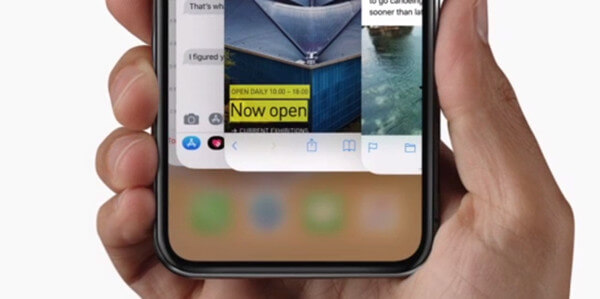 iPhone X Multitasking