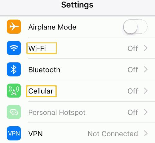 Netzwerkverbindung überprüfen
