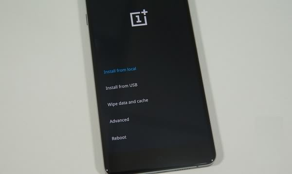 OnePlus in Recovery Modus starten
