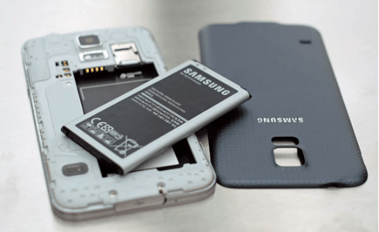 Samsungs Batterie
