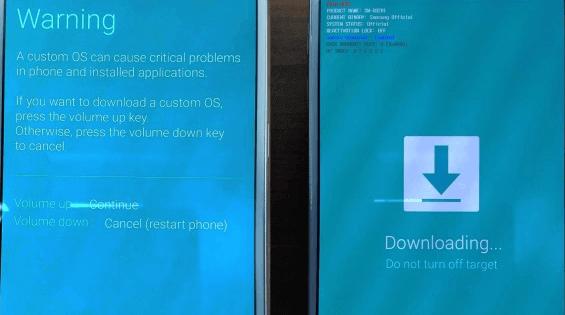 Samsung-Downloadmodus
