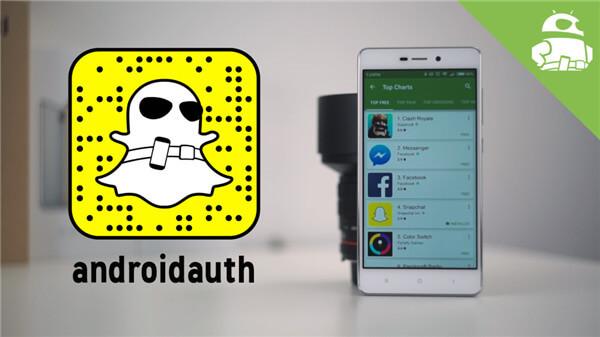 Snapchat Account deaktivierten