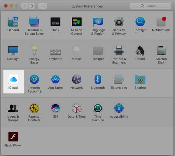 Systemeinstellungen-iCloud