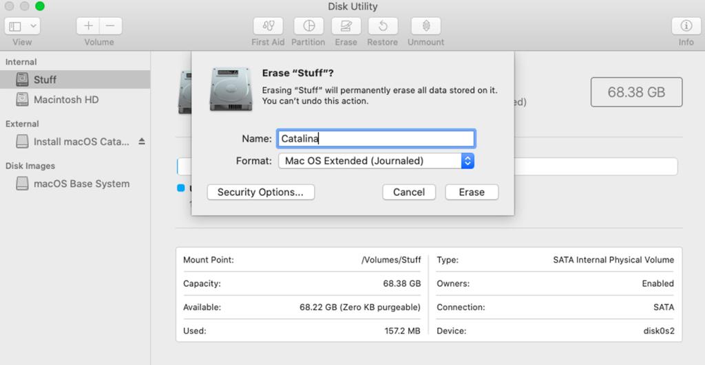 USB-Laufwerk auf Mac formatieren