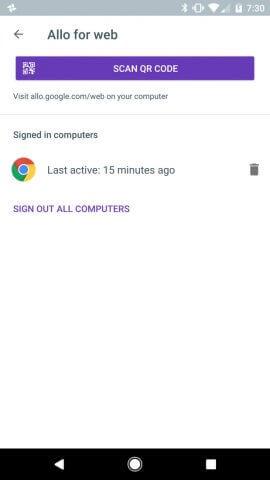 Von allen Computern abmelden