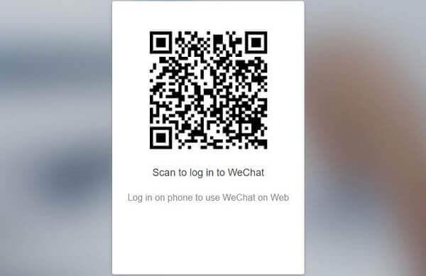 Web-WeChat-Code scannen