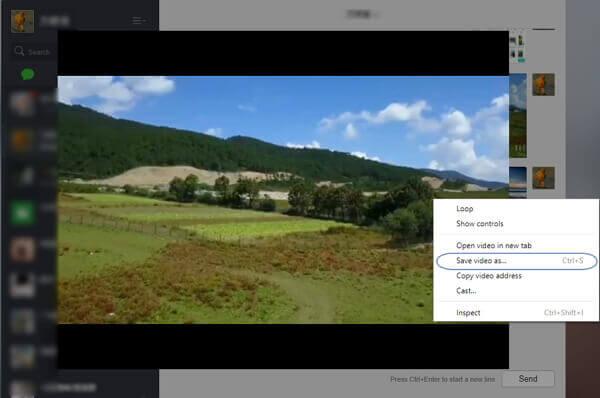Wechat-Video auf PC speichern