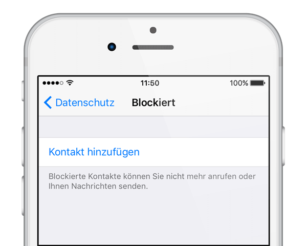 WhatsApp-Kontakte blocken iPhone